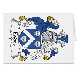 Eades Family Crest Greeting Card