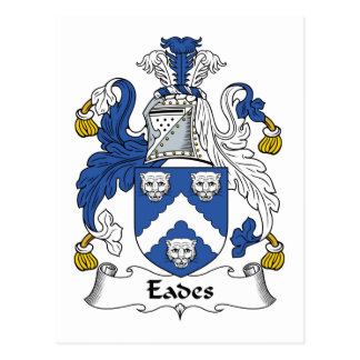 Eades Family Crest Post Cards