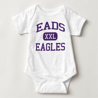 Eads - Eagles - Eads High School - Eads Colorado Infant Creeper