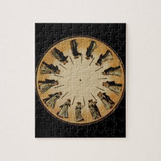Eadweard Muybridge Couple Waltzing Phenakistoscope Puzzles