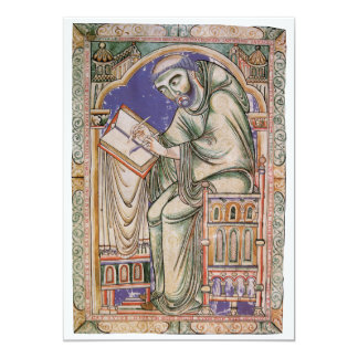 Eadwine the Monk 13 Cm X 18 Cm Invitation Card