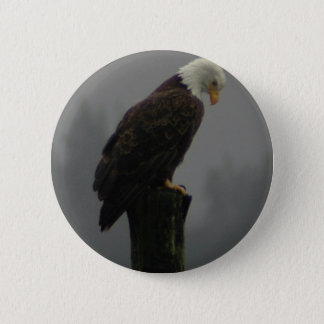 EAGLE 6 CM ROUND BADGE