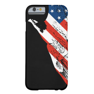 Eagle - American Flag - Closeup Barely There iPhone 6 Case