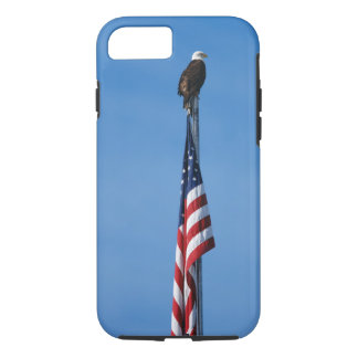 Eagle and American Flag - iPhone 7 tough iPhone 8/7 Case
