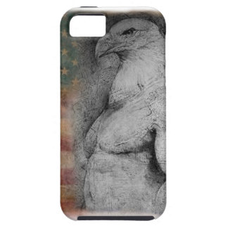 Eagle and American Flag on i-Phone case iPhone 5 Case