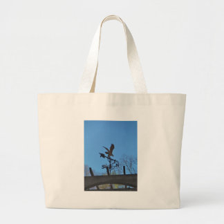 Eagle and Arrow Weather vane blue skys Bags