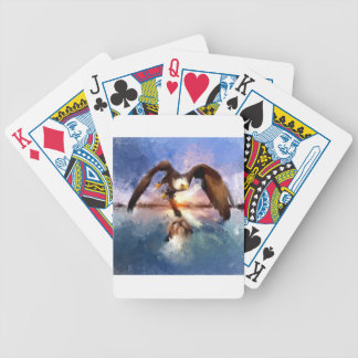 eagle and dog card deck