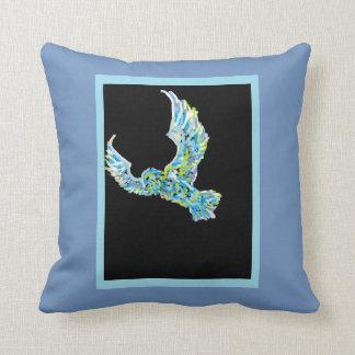 eagle and fire cushion