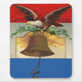Eagle and Liberty Bell Mouse Mat
