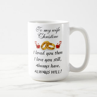 Eagle And Powerful Message With Custom Name Coffee Mug