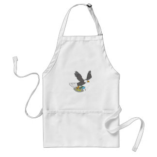 eagle and spaceship standard apron