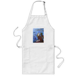Eagle art long apron