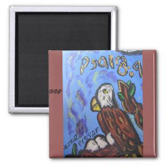 Eagle art magnet