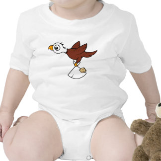 Eagle baby delivery exclusive baby design bodysuit