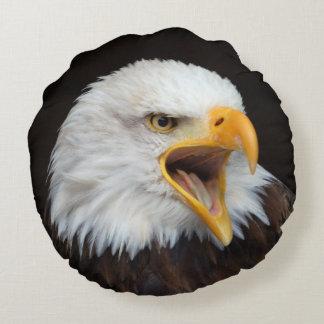 EAGLE bald eagles CUSHIONS/PILLOW/COUSSIN Round Cushion