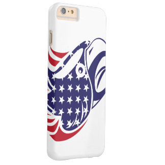 Eagle Bald Raptor American Flag Barely There iPhone 6 Plus Case