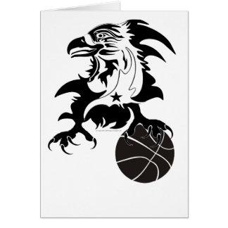 Eagle-Basketball-1-logo-2 Greeting Card