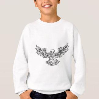Eagle Basketball Sports Mascot Sweatshirt