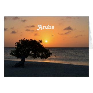 Eagle Beach Sunset Cards