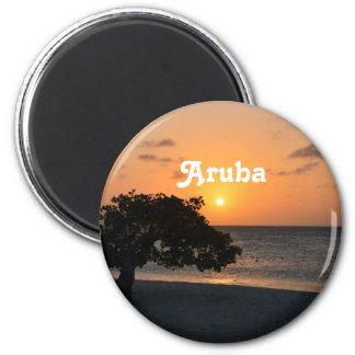 Eagle Beach Sunset Magnet