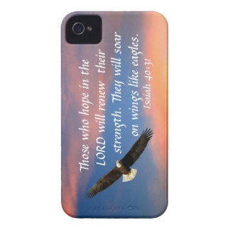 eagle bible verse Isaiah 40 31 iPhone 4 cover