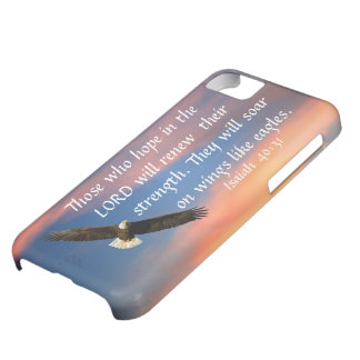 eagle bible verse Isaiah 40:31 iPhone 5C Case