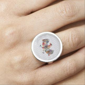 Eagle Bird Hunter Girl Friend Sister nvn571 Dating Ring