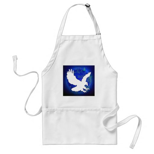 EAGLE BLUE BACKGROUND PRODUCTS APRON