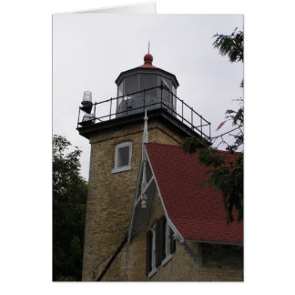 Eagle Bluff Lighthouse Card