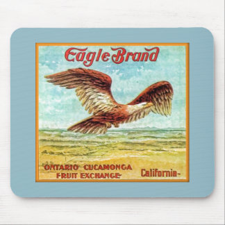 Eagle Brand Fruit Crate Label Mousepad