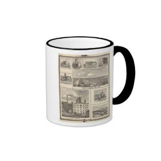 Eagle Brewery, Cedar Rapids Ringer Mug