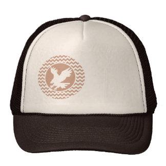 Eagle; Brown Chevron Cap