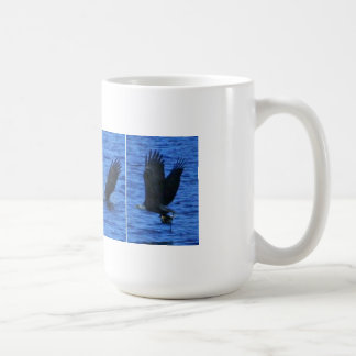 Eagle Catching a Coot Mug