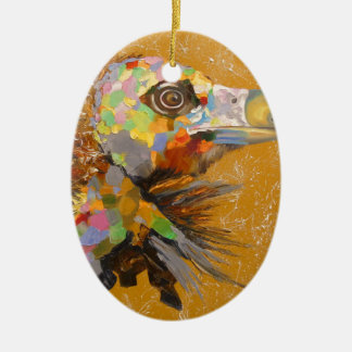 Eagle Ceramic Oval Decoration