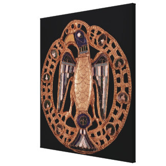 Eagle clasp from Gisela, Wife of Emperor Conrad Canvas Print