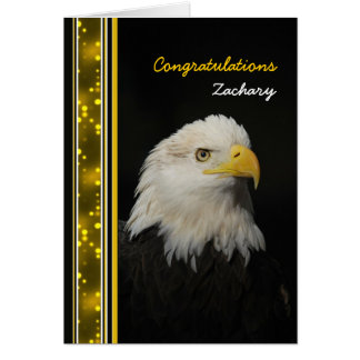 Eagle - Congratulations - Achievement - other use Card