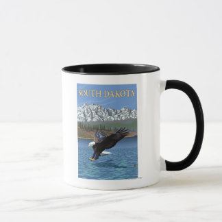 Eagle DivingSouth Dakota Mug