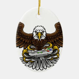 Eagle Esports Sports Gamer Mascot Christmas Ornament
