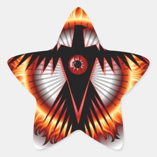 Eagle Eye Star Sticker