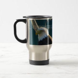 Eagle Eyes; Customizable Travel Mug