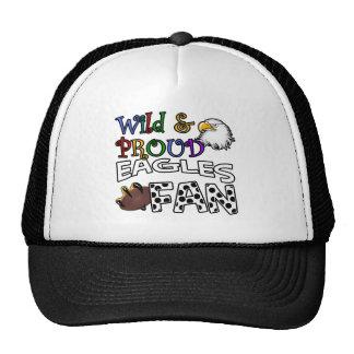 Eagle Fan Sports Polka Dots Rainbow Cap
