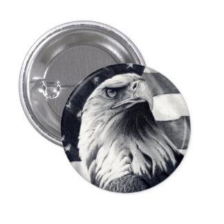 Eagle & Flag Button