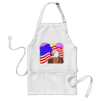 Eagle Flag Fireworks Standard Apron