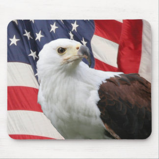 Eagle & Flag Mouse Pad