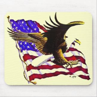 Eagle & Flag Mouse Pad