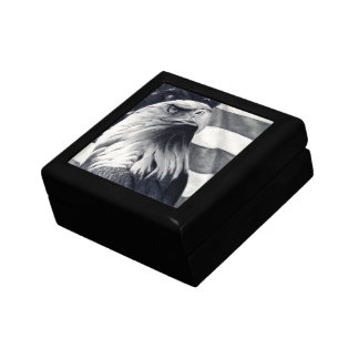 Eagle & Flag Tile Gift Box
