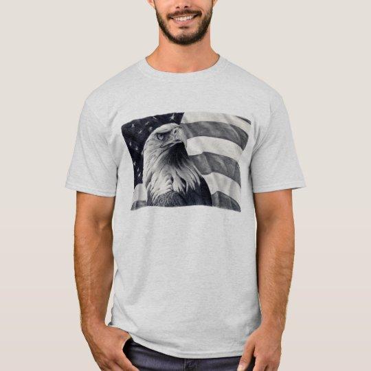 Eagle & Flag Tshirt