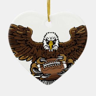 eagle football christmas ornament