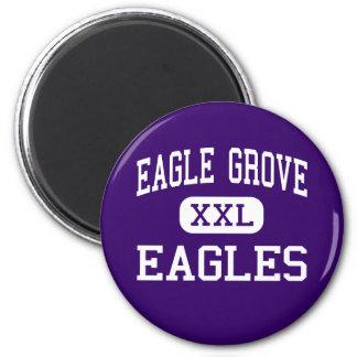 Eagle Grove - Eagles - High - Eagle Grove Iowa Fridge Magnet