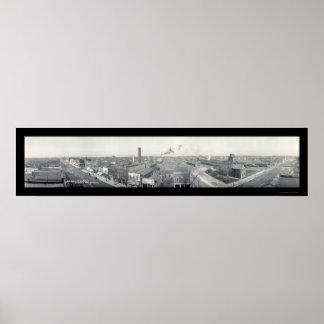 Eagle Grove, IA Photo 1912 Poster